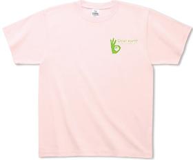 環境貢献ロゴTシャツ