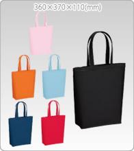 イベントの参加者に配布 コットンバッグ(M)カラー生地【シルクプリント1色刷り】1000枚製作