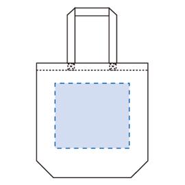 コットンバッグ(M)の印刷範囲