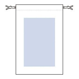 レイアウト可能範囲:W115×H180(mm) ■シルク印刷 最大範囲:W115×H180(mm)