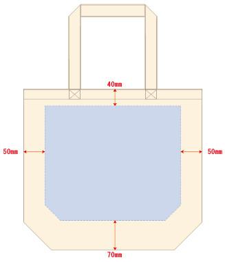 ■フルカラー印刷刷 最大範囲:最大範囲:W320×H270(mm)
