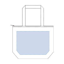 キャンバス保冷トート(M)最大範囲:W320×H230(mm) 以内
