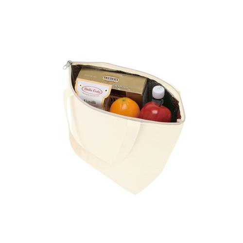 アルミ蒸着仕様の保冷トートバッグ