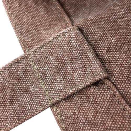 しっかりとした持ち手縫製