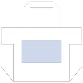 レイアウト可能範囲:W170×H95(mm) ■シルク印刷 最大範囲:W170×H95(mm)