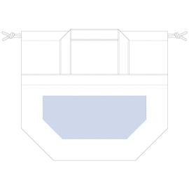 レイアウト可能範囲:W240×H100(mm) ■シルク印刷 最大範囲:W240×H100(mm)