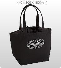 厚手キャンバス巾着付トート(M)ナイトブラックでオリジナルトートバッグを作る