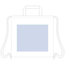 厚手コットンハンドル付リュック 印刷範囲W280×H240(mm)