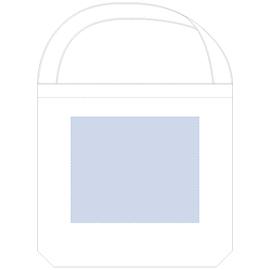 厚手コットンショートショルダートート ナチュラル 印刷 最大範囲:W230×H190(mm)