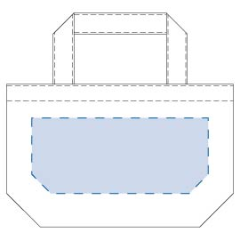 ライトキャンバスタウントート(S) 印刷範囲W210×H90(mm)