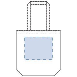 ライトキャンバスタウントート(M)印刷範囲W210×H170(mm)