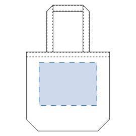 ライトキャンバスタウントート(L)印刷範囲W270×H200(mm)