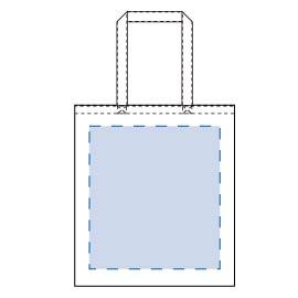 ライトキャンバスバッグ(LL)印刷サイズW260×H300(mm)