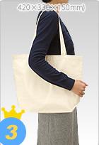 お歳暮の商品を入れるための、再利用できる名入れのオリジナルバッグ【シルク印刷1色刷り】1000枚生産