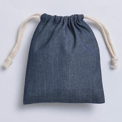 デニム巾着(S)006インディゴ