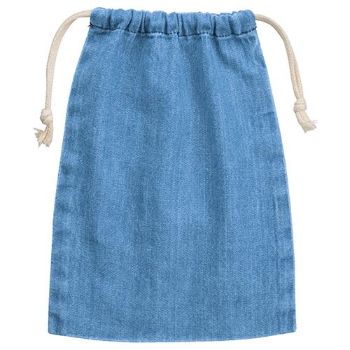 デニム巾着(M)041ヴィンテージブルー