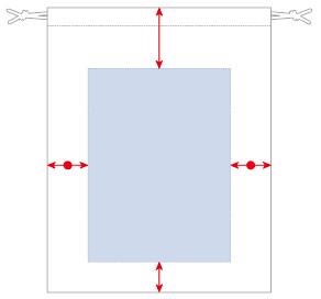 オリジナル印刷可能範囲図