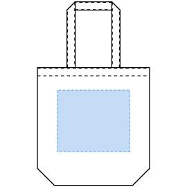 デザインスペース:W260×H220(mm) ■シルク印刷 最大範囲:W250×H220(mm)