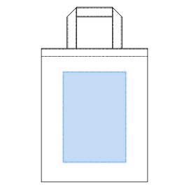 デザインスペース:W160×H230(mm) ■シルク印刷 最大範囲:W160×H230(mm)