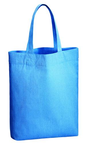 シャンブリックガゼットマチ付バッグ001 ブルー