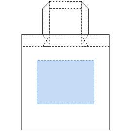 デザインスペース:W220×H170(mm) ■シルク印刷 最大範囲:W220×H170(mm)