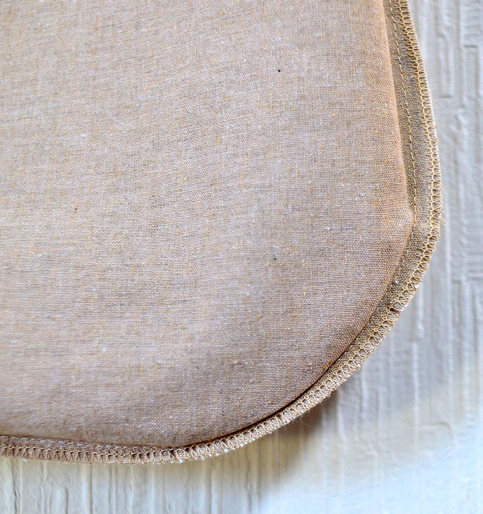 バッグ内側はロックミシン縫製