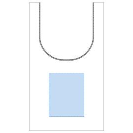 レイアウト可能範囲:W180×H220(mm) ■シルク印刷 最大範囲:W180×H220(mm)