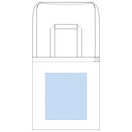 デザインスペース:W220×H250(mm) ■シルク印刷 最大範囲:W220×H250(mm)