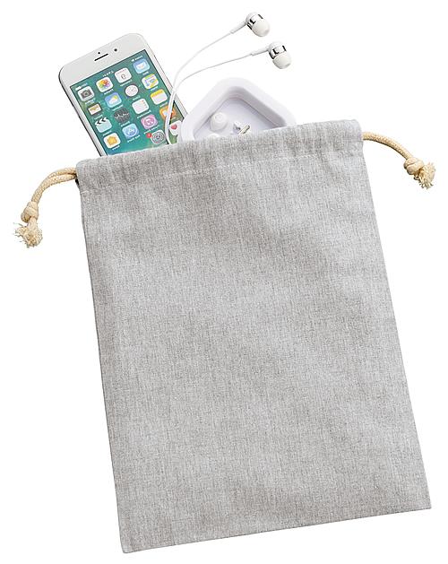 シャンブリック巾着(M) 011 グレー