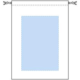 デザインスペース:W170×H250(mm) ■シルク印刷 最大範囲:W170×H250(mm)