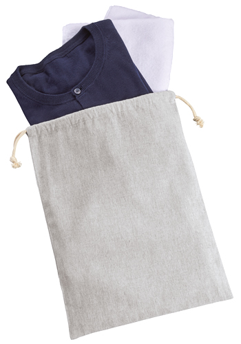 シャンブリック巾着(L) 011 グレー