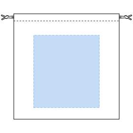 デザインスペース:W200×H220(mm) ■シルク印刷 最大範囲:W200×H220(mm)