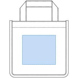 デザインスペース:W130×H115(mm) ■シルク印刷 最大範囲:W130×H115(mm)