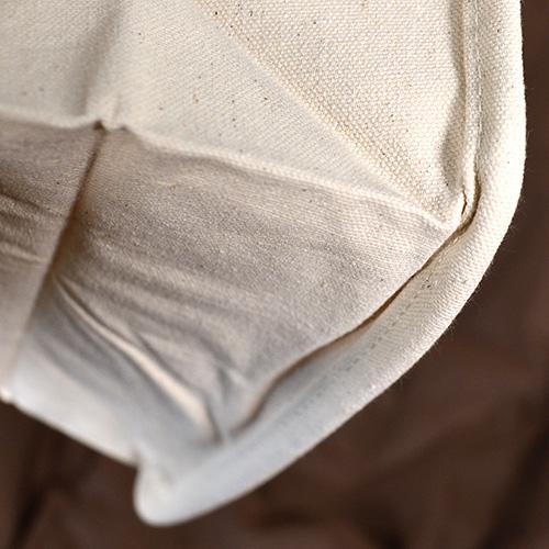 袋縫いが足の役割のようになります