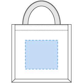 デザインスペース:W120×H110(mm) ■シルク印刷 最大範囲:W120×H110(mm)