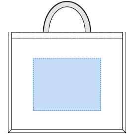 デザインスペース:W240×H185(mm) ■シルク印刷 最大範囲:W240×H185(mm)