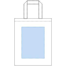 デザインスペース:W160×H220(mm) ■シルク印刷 最大範囲:W160×H220(mm)