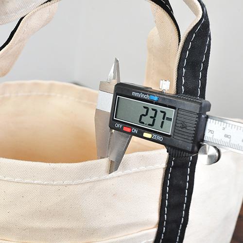 本体の厚みを測定