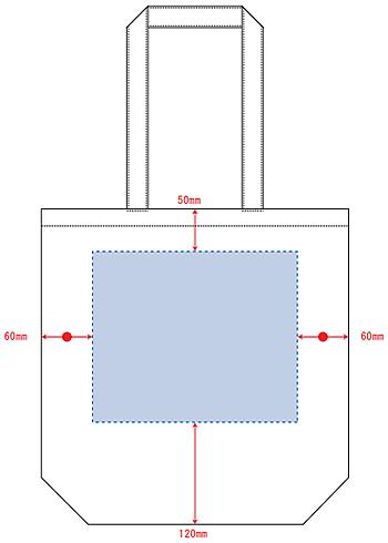 デザインスペース:W240×H200(mm) ■シルク印刷 最大範囲:W240×H200(mm)