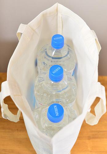 ボトル3本がすっぽり入ります