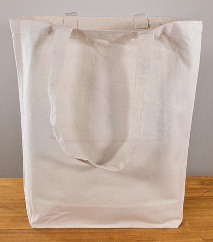 底マチが開くとバッグ両サイドが側面にまわりこみます