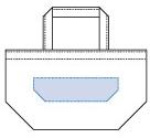 デザインスペース:W90×H25(mm)   シルク印刷 最大範囲:W90×H25(mm)