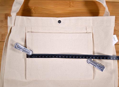ポケットの横幅は19.4cm