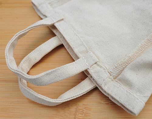 持ち手部分の縫製