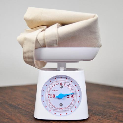 トートの重さを計測