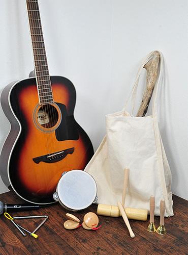レッスンバッグやスクールバックとして大変使いやすいバッグ