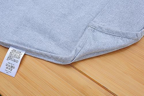 タグ周囲の縫製