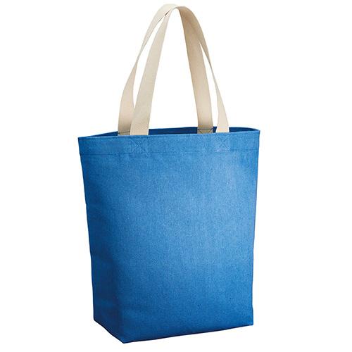 シャンブリックキャンバストート(L)001 ブルー