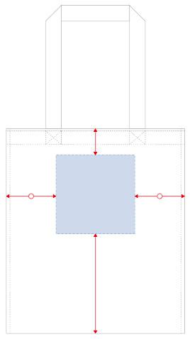 フルカラー熱転写印刷可能範囲
