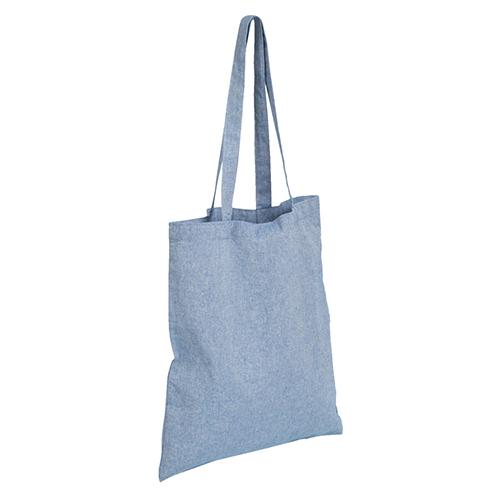 リサイクルコットントート(L)ブルー